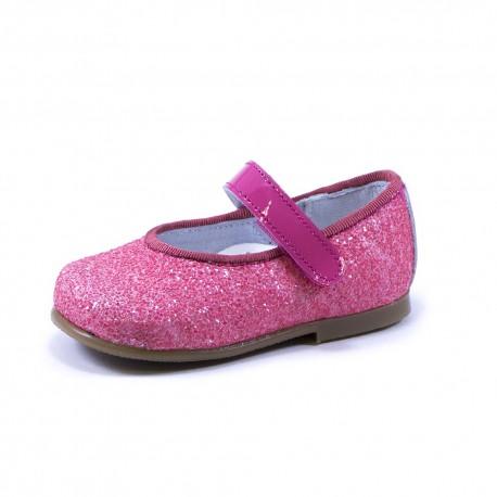 Bailarina glitter hebilla