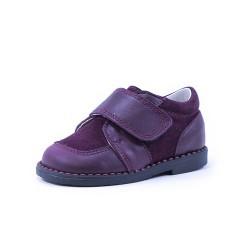 Zapato blucher velcro