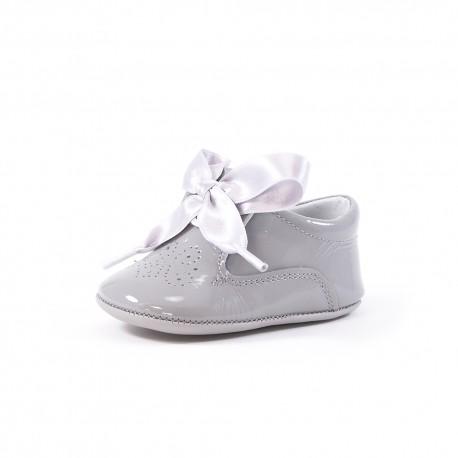 Zapato peuque blucher cordón raso
